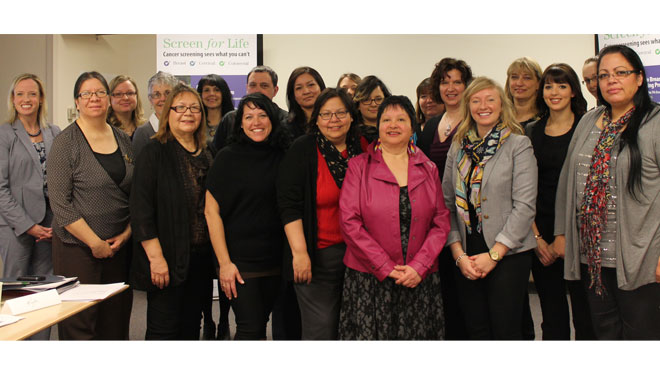 Collaborative project improves Aboriginal cancer screening rates
